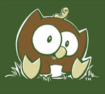 OWLY GIRLY-T GREEN CLASSIC