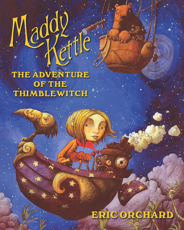 Maddy Kettle (Book 1): The Adventure of the Thimblewitch