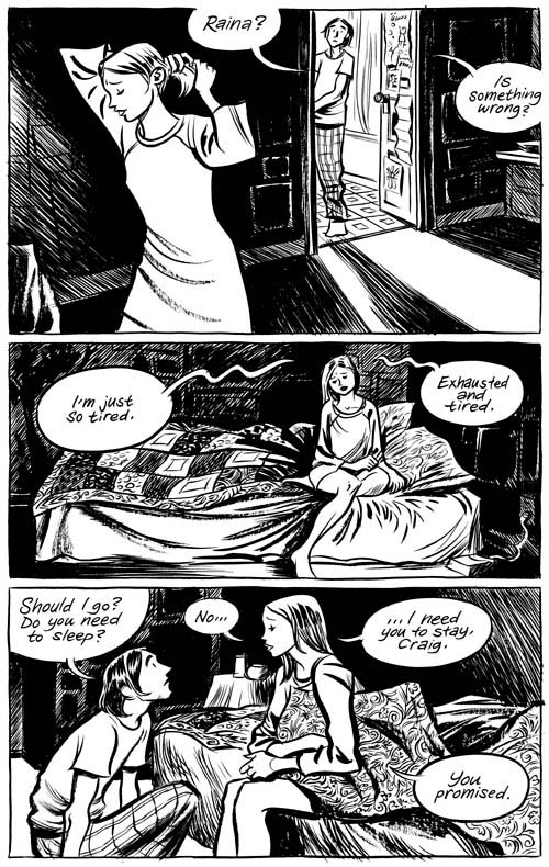 Blankets -- HARDCOVER - Page 1