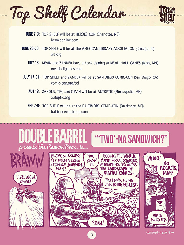 Double Barrel #11 - Page 2