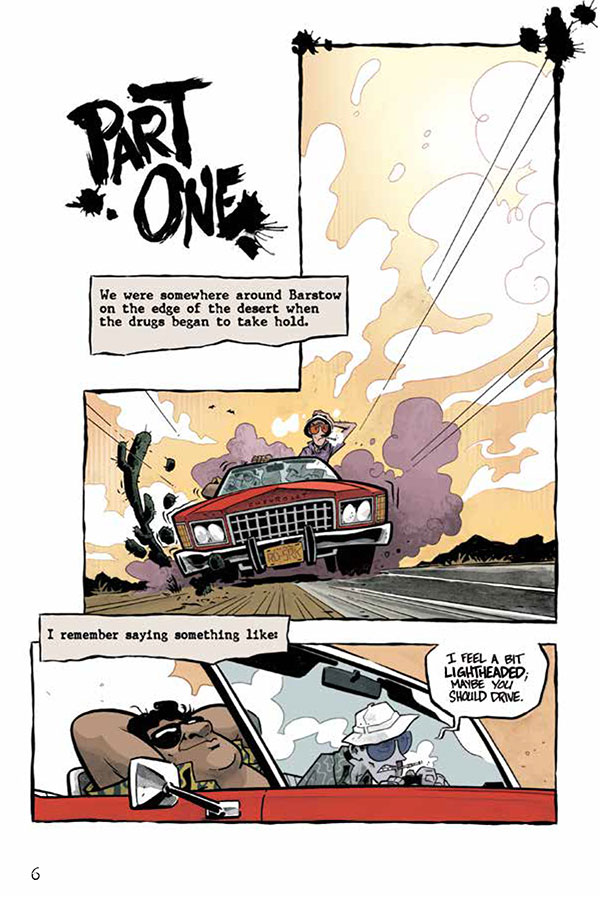 Fear and Loathing in Las Vegas - Page 1