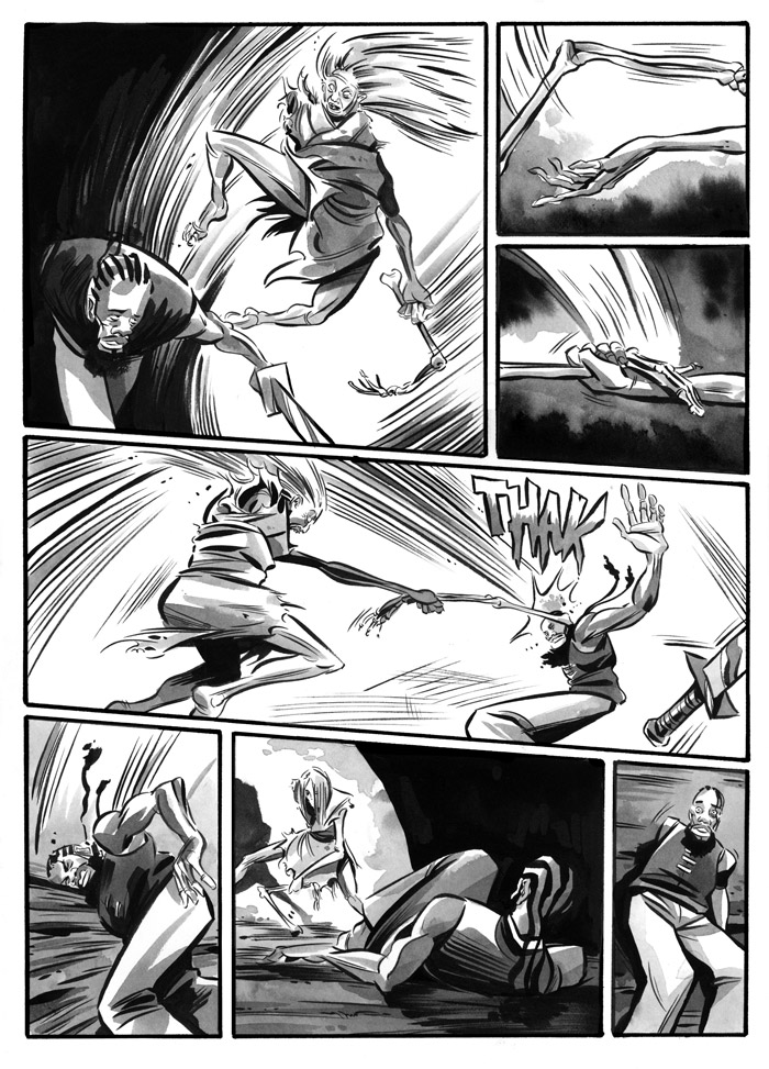 Infinite Kung Fu - Page 1