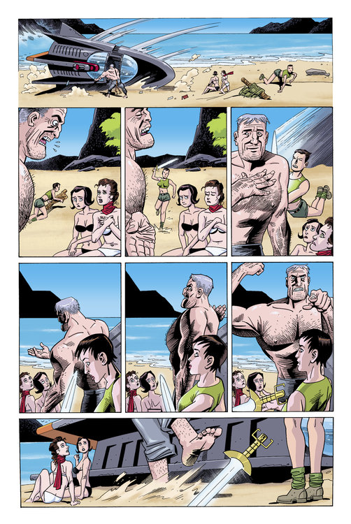 The League of Extraordinary Gentlemen (Vol IV): The Tempest #2 (of 6) - Page 1