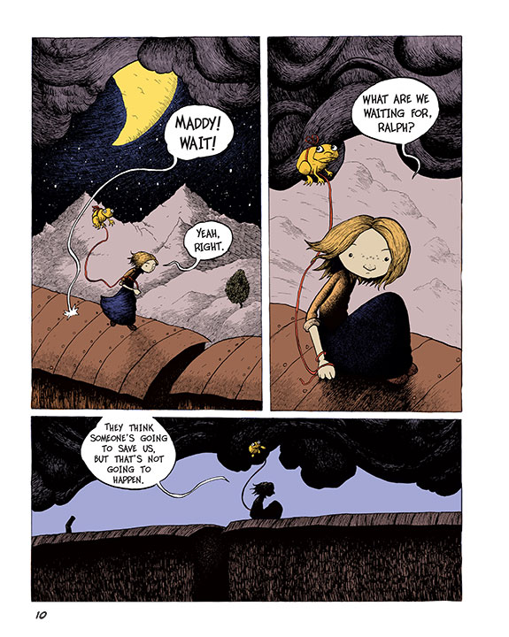 Maddy Kettle (Book 1): The Adventure of the Thimblewitch - Page 1