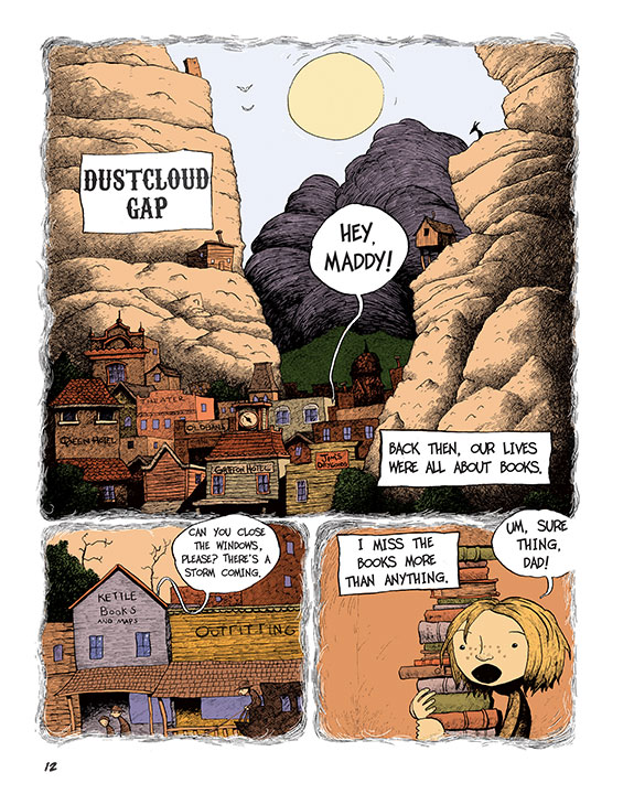 Maddy Kettle (Book 1): The Adventure of the Thimblewitch - Page 3