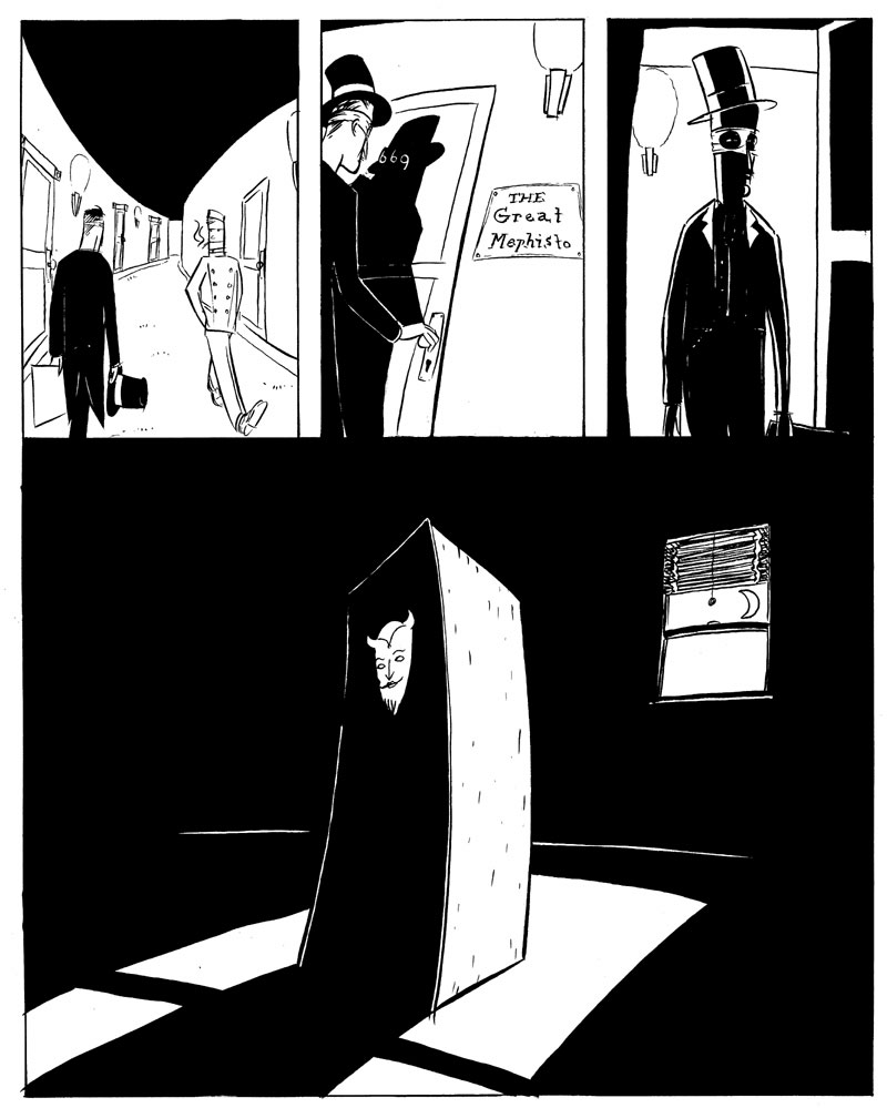 Mephisto and the Empty Box - Page 1