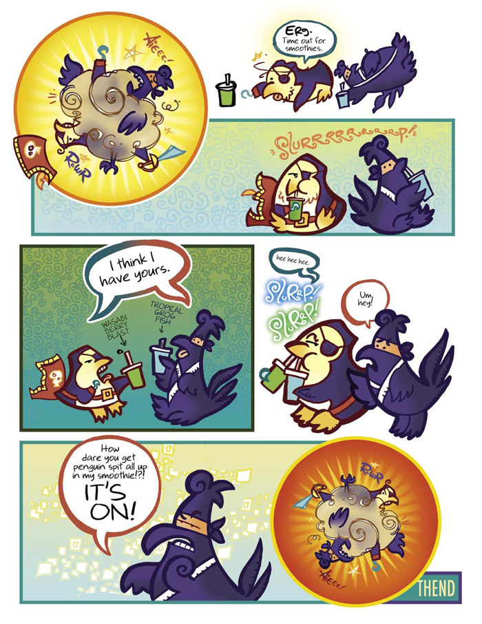 Pirate Penguin vs Ninja Chicken (Book 1): Troublems with Frenemies - Page 2