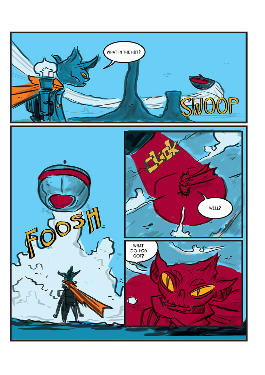 Spacebat and the Fugitives (Book One): Tacos at the End of the World - Page 3