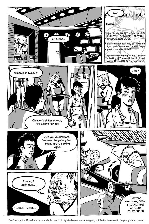 Strong Female Protagonist (Book One) - Page 4