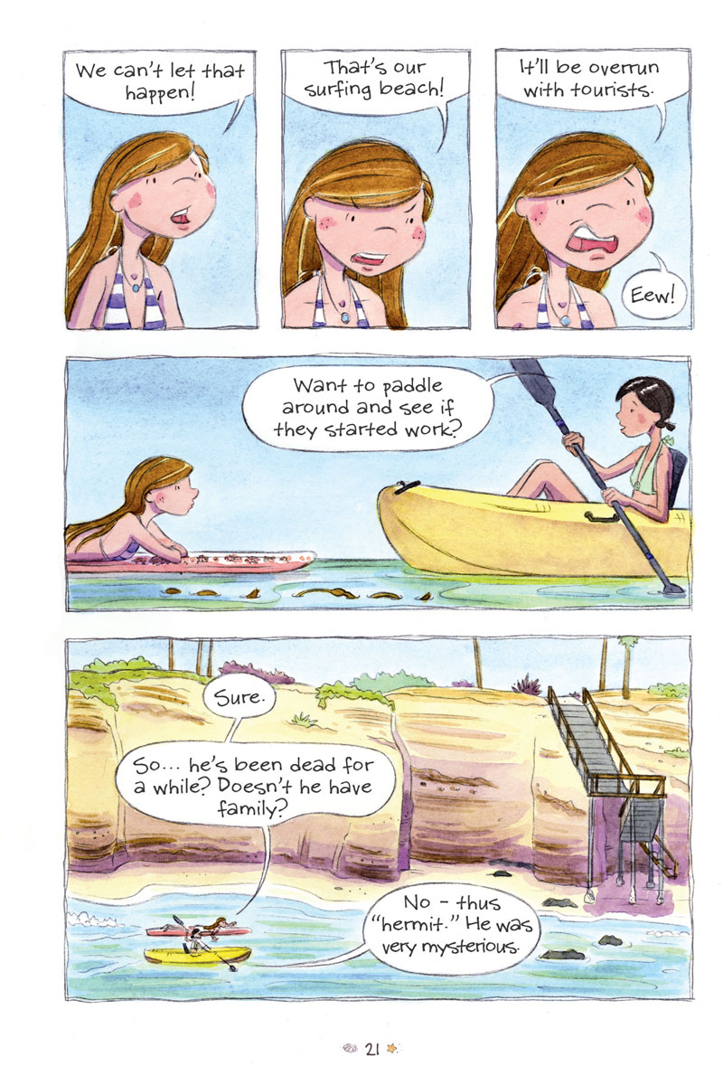 Surfside Girls (Book One): The Secret of Danger Point - Page 3
