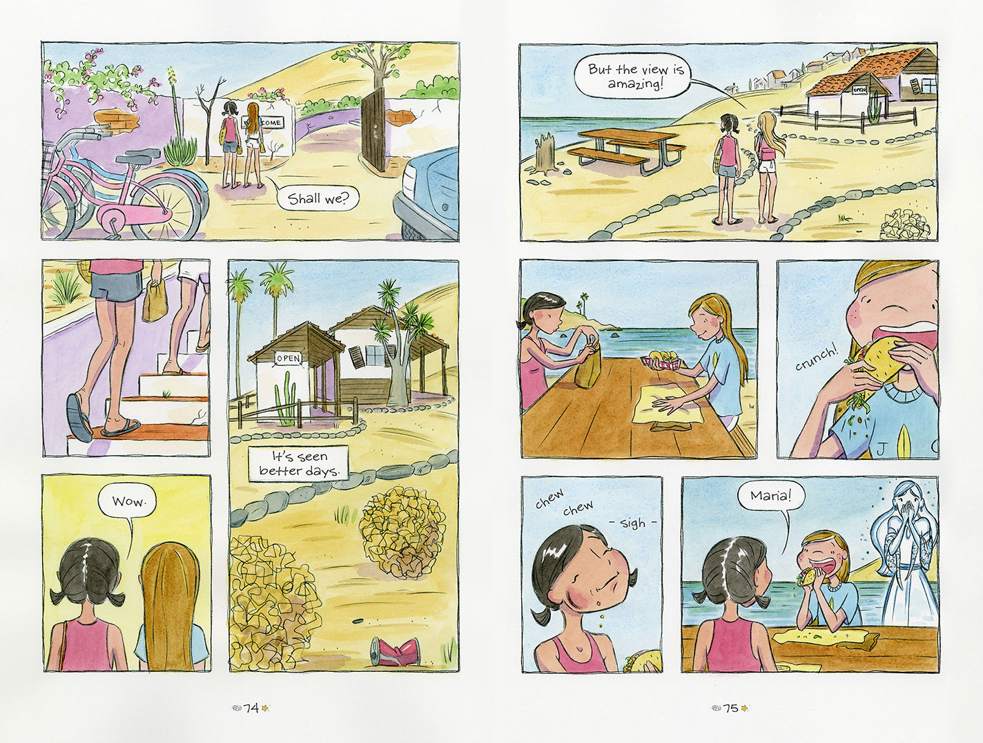 Surfside Girls (Book Two): The Mystery at the Old Rancho - Page 1