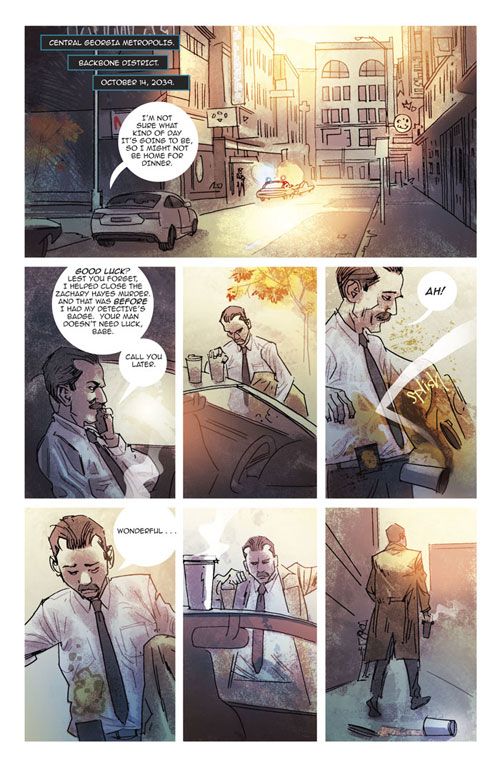 The Surrogates: Case Files #1 - Page 1
