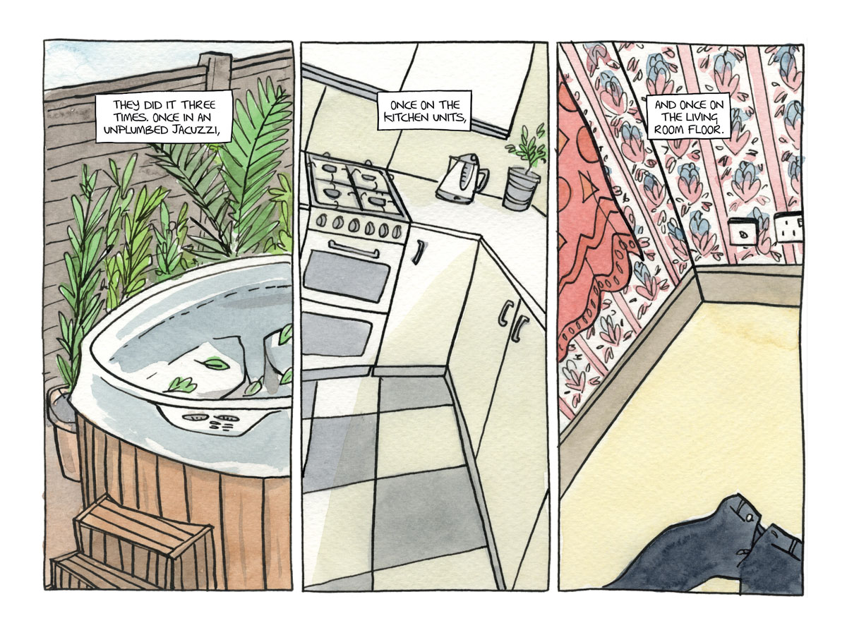 The Three Rooms in Valerie's Head - Page 3