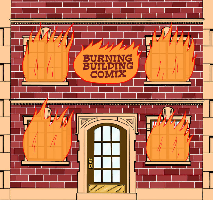 Burning Building Comix #1 - Page 1