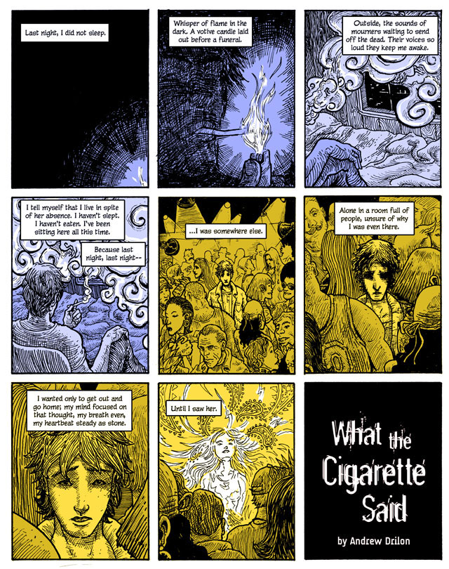 What the Cigarette Said - Page 1