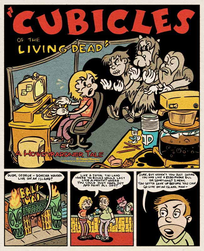 Cubicles of the Living Dead - Page 1