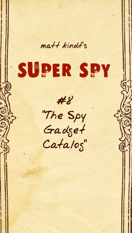 The Spy Gadget Catalog - Page 1