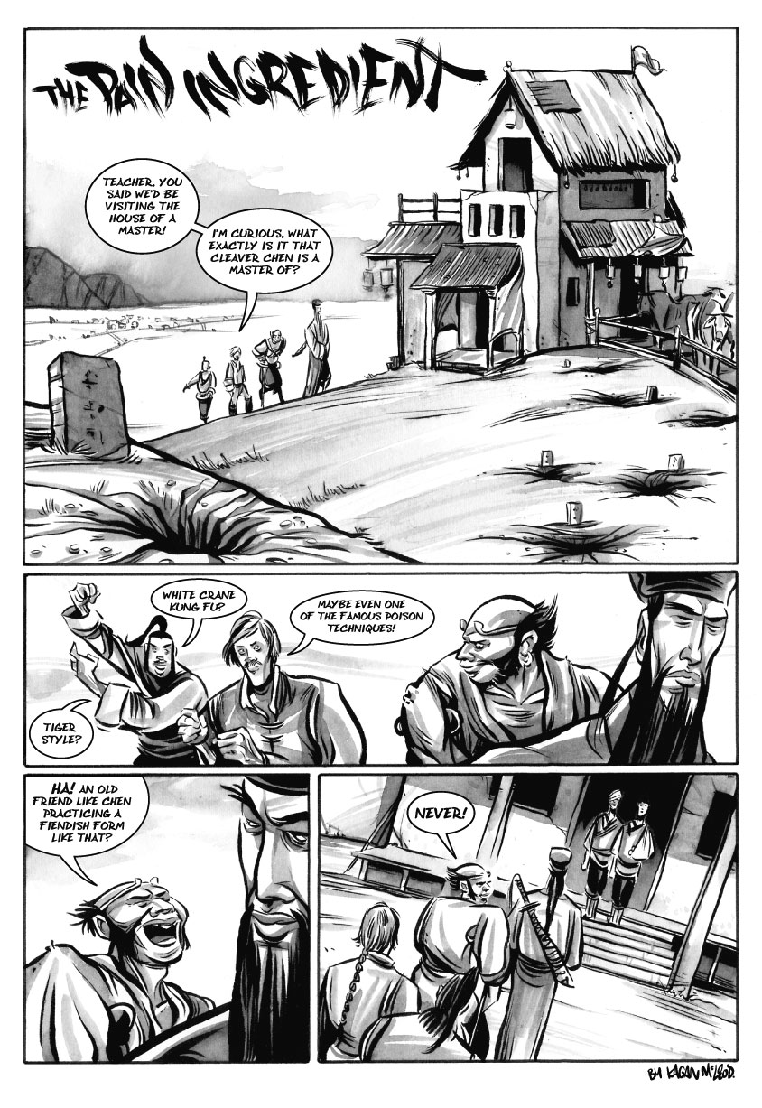 Infinite Kung Fu, part 1 - Page 1