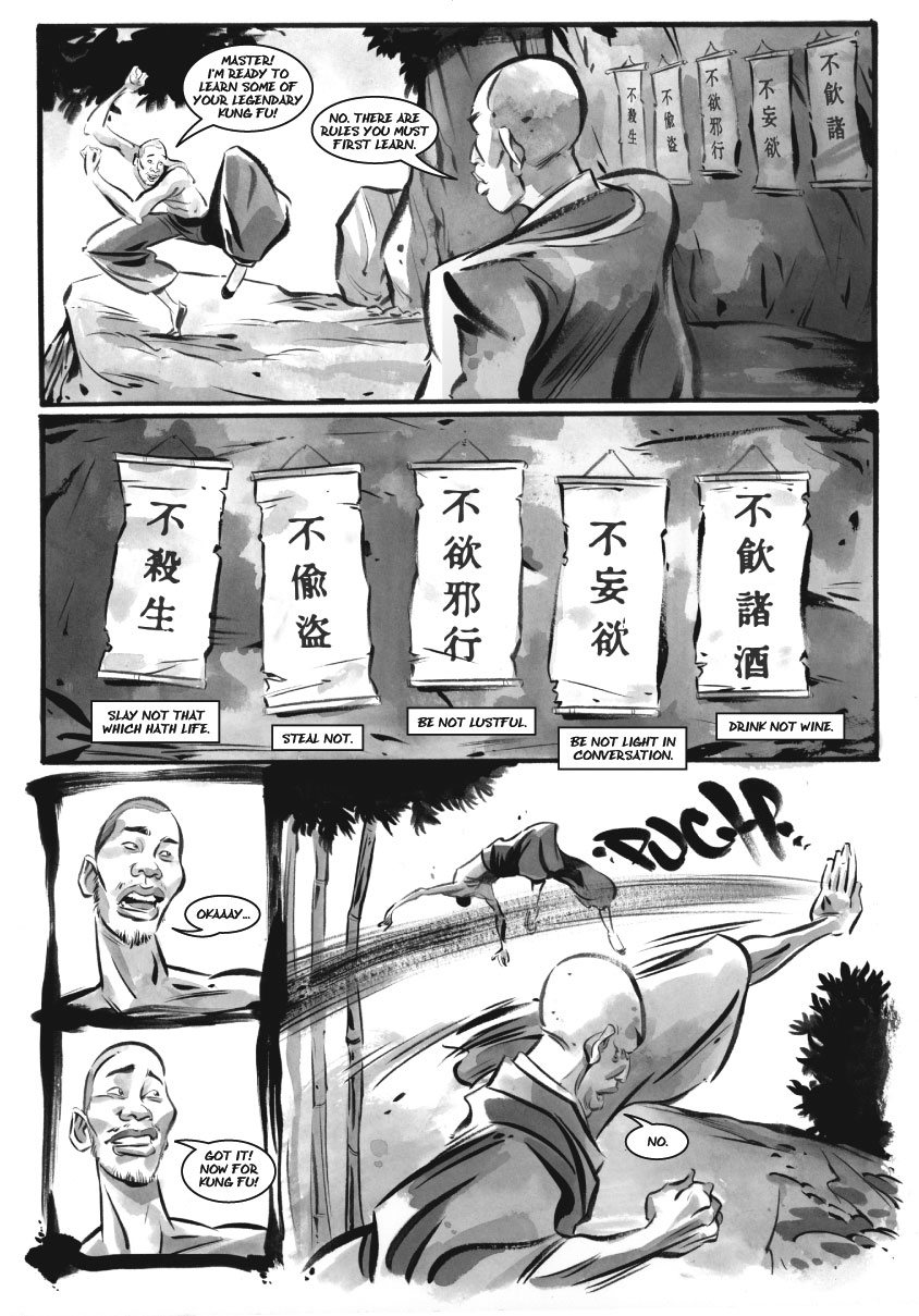 Infinite Kung Fu, part 4 - Page 2
