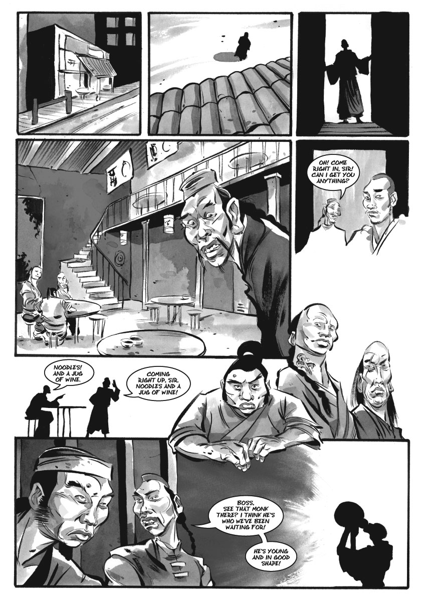 Infinite Kung Fu, part 5 - Page 2