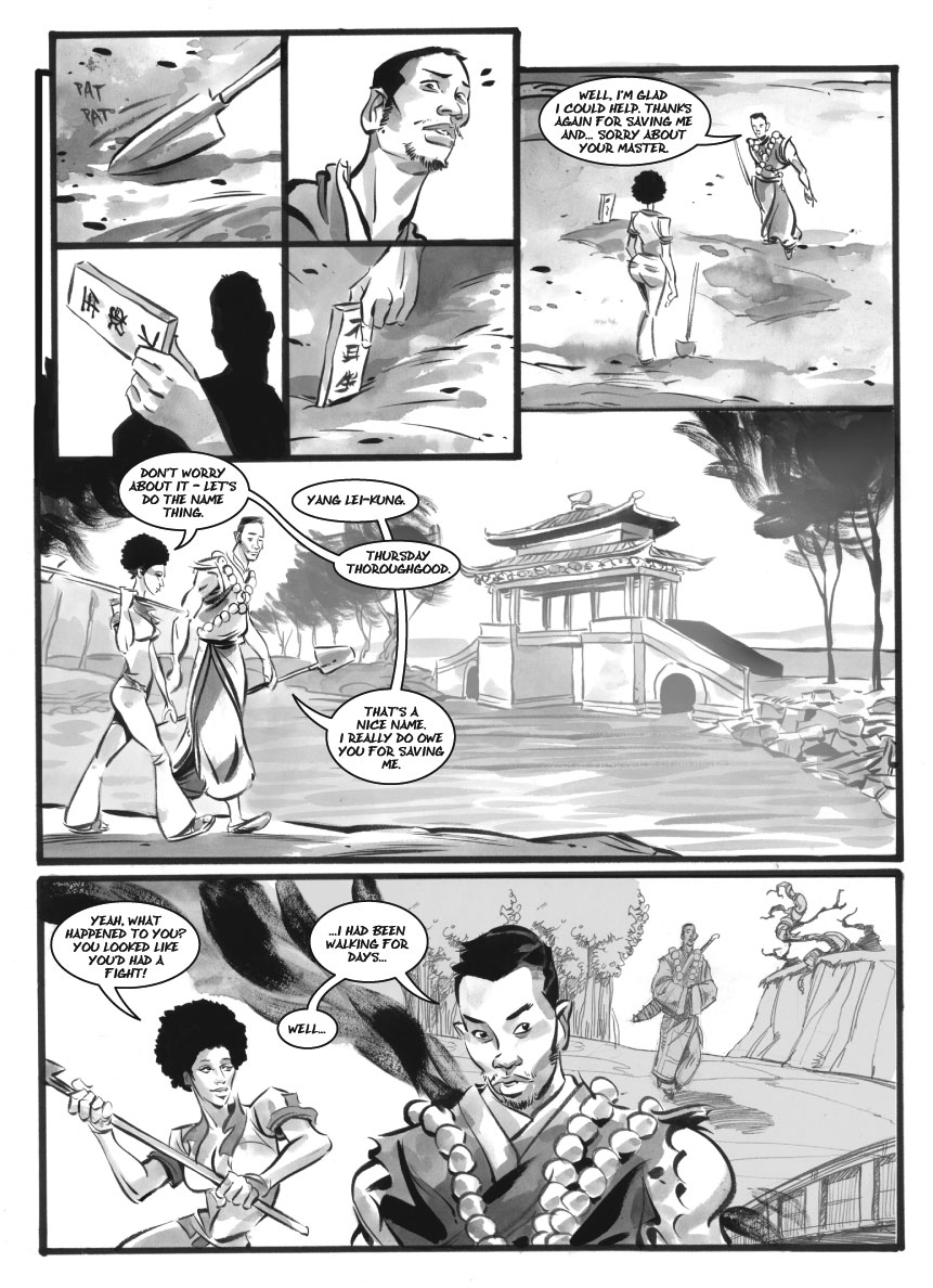 Infinite Kung Fu, part 8 - Page 1