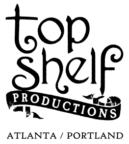 Top Shelf Productions vintage logo