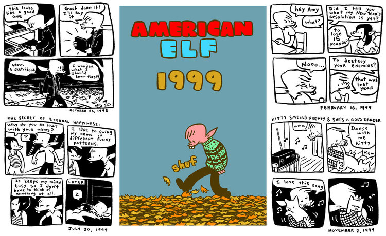 DISCOVER JAMES KOCHALKA'S AMERICAN ELF IN HANDY DIGITAL VOLUMES, YEAR-BY-YEAR FOR $1.99!