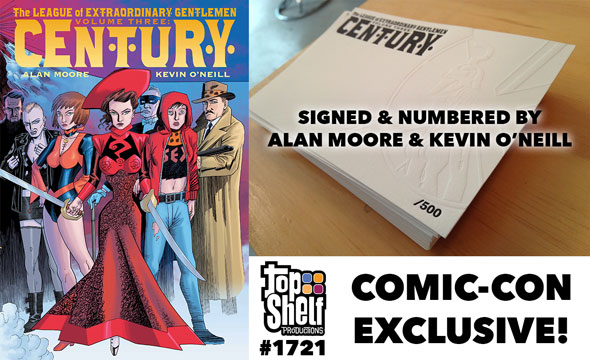 limited-edition League of Extraordinary Gentlemen: Century hardcover signed & numbered by Alan Moore & Kevin O'Neill