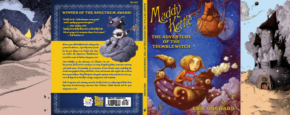 Special advance debut of Maddy Kettle by Eric Orchard!