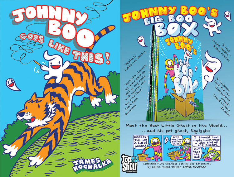 New All-Ages Adventures with JOHNNY BOO and PIRATE PENGUIN!