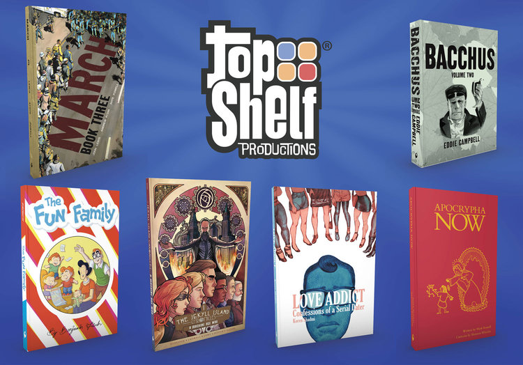 Top Shelf 2016 Comic-Con Debuts