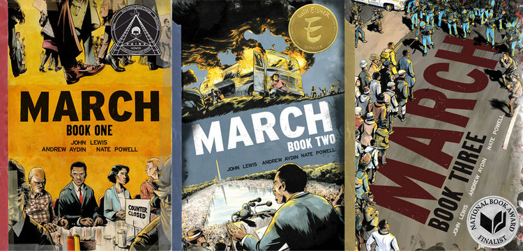 MARCH is a National Book Award Finalist