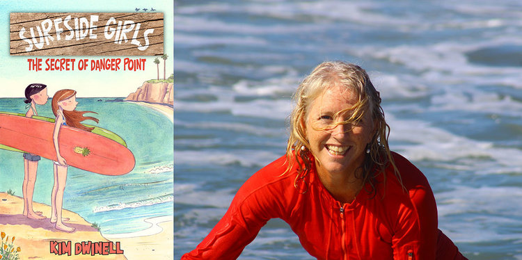 Author Kim Dwinell and SURFSIDE GIRLS
