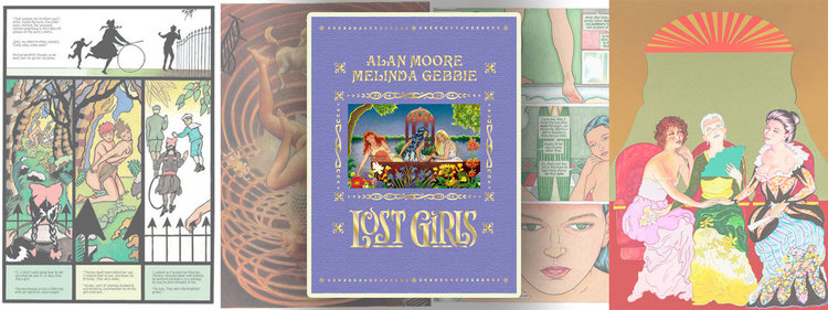 LOST GIRLS (EXPANDED EDITION) by Alan Moore & Melinda Gebbie