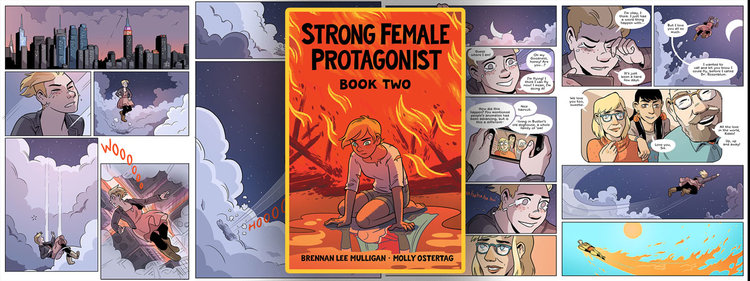 STRONG FEMALE PROTAGONIST (BOOK TWO) by Brennan Lee Mulligan & Molly Ostertag