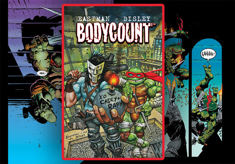 BODYCOUNT by Kevin Eastman & Simon Bisley