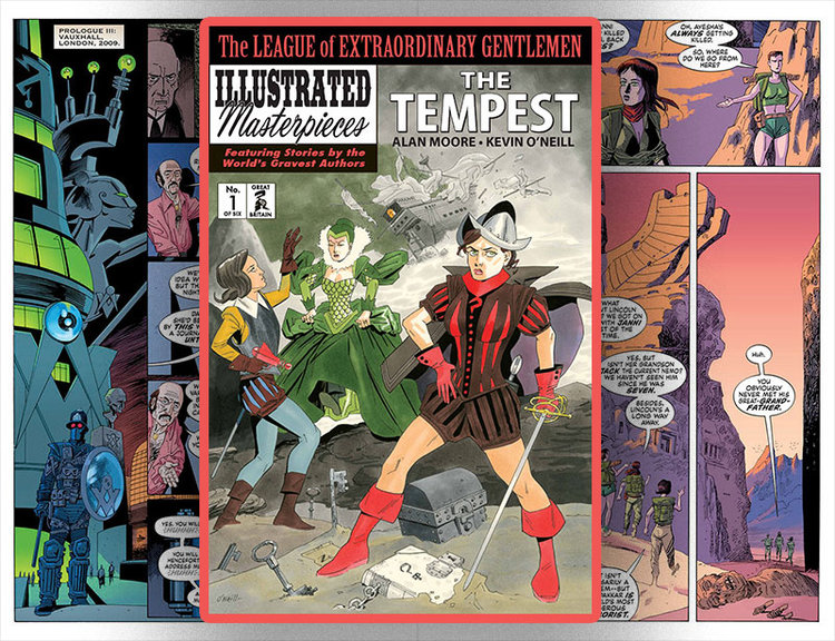 The League of Extraordinary Gentlemen (Vol IV): The Tempest #1