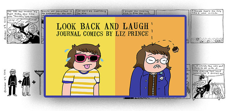 LOOK BACK & LAUGH by Liz Prince