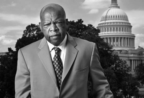 Congressman John Lewis. Photo by Eric Etheridge.