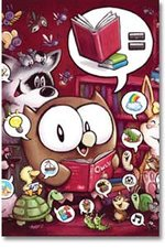 Image for Andy Runton & OWLY celebrate America's libraries!