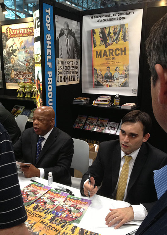 Congressman John Lewis at BookExpo America 2013