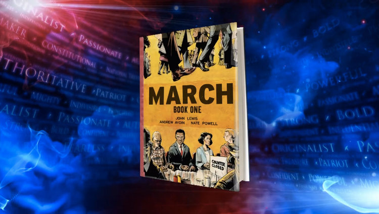 MARCH: BOOK ONE on The Colbert Report