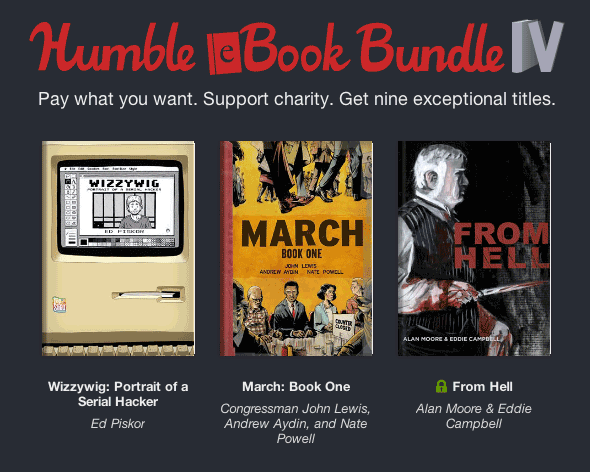 Humble eBook Bundle IV