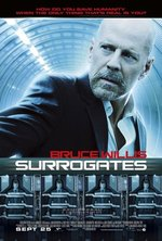 Image for New SURROGATES movie poster unveiled!